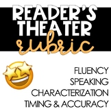 FREE Reader's Theater Rubric for Primary Grades