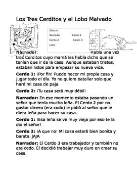 Readers Theater SPANISH
