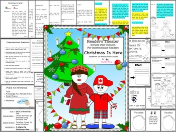 Reader's Theater Script: Christmas' Traditions, Holidays, Winter, Full Pack