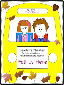 "Reader's Theater Script: ""Fall Is Here"" , Autumn, Reading Activity/Center"
