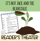 Readers' Theater Script It's Not Jack and the Beanstalk