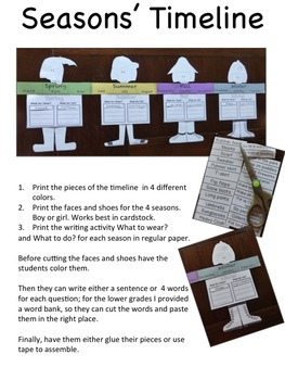 Reader's Theater Script: Reading-Science Integration,The Seasons, Full Pack