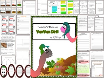 Reader's Theater Script, Earthworms, Compost, Research, Activities & Craft