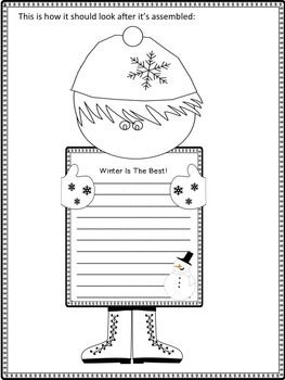Reader's Theater Script: Snow Day At Last, Winter,  Reading & Activities