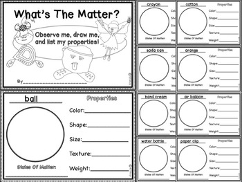 Reader's Theater Script: Reading-Science Integration, States Of Matter,Full Pack