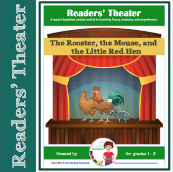 Readers' Theater Script: The Rooster, the Mouse, and the Little Red Hen