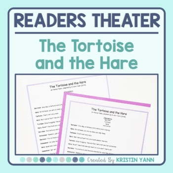 Readers Theater Script - The Tortoise and the Hare