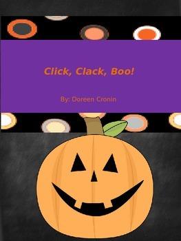 Reader's Theater Script for Click, Clack, Boo