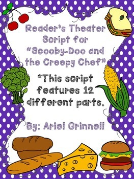 """Reader's Theater Script for """"Scooby-Doo and the Creepy Chef"""""""