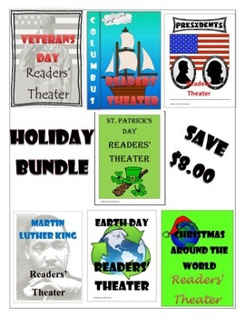 Readers' Theater Scripts - Holiday Bundle