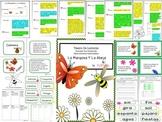 Spanish Reader's Theater Script, Literacy/Science Activities, Mariposas y Abejas