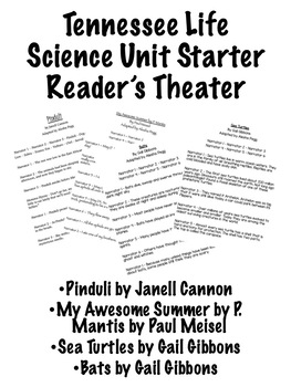 Reader's Theater Set Life Science Unit Starter TN
