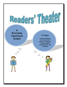 Readers Theater - Set of 6 Scripts, 51 Pages!