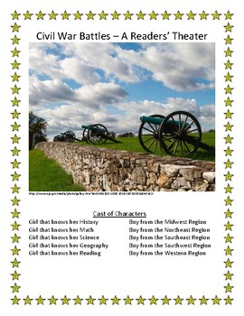 Readers' Theater Set of Plays - History, Geography, Cultural, Civil War and more