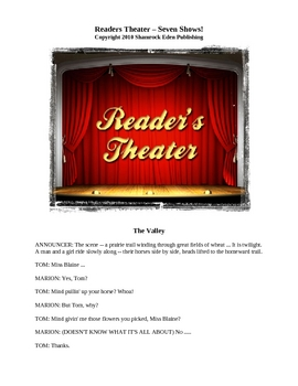 Readers Theater - Seven Shows!