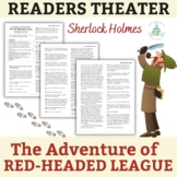 """Sherlock Holmes """"The Red-Headed League"""" - One-Act Play - Readers Theater"""
