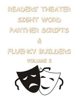 Readers' Theater Sight Word Partner Scripts and Fluency Builders Volume 2
