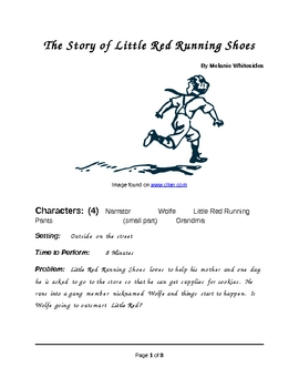 Little Red Running Shoes - Small Group Reader's Theater