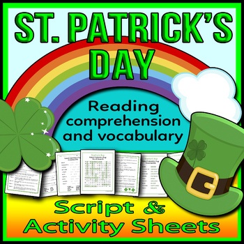 St. Patrick's Day Readers Theater Script, Reading & Activi