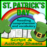St. Patrick's Day - Readers Theater Holiday Script, Reading & Activity Packet