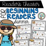 Readers Theater - Summer | Fluency Practice Kindergarten | Partner Plays