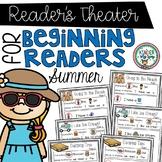 Readers Theater - Summer | Fluency Practice Kindergarten |