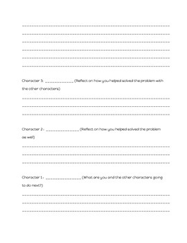 Reader's Theater Template