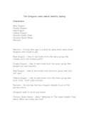 Readers Theater: The Dragons Learn About Healthy Eating