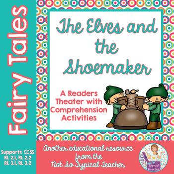 Fairy Tales Readers Theater Common Core RL3.1, RL3.2, RL2.