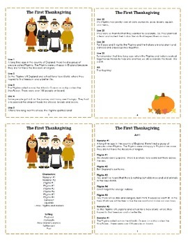 Reader's Theater: The First Thanksgiving