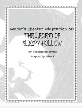 Reader's Theater: The Legend of Sleepy Hollow