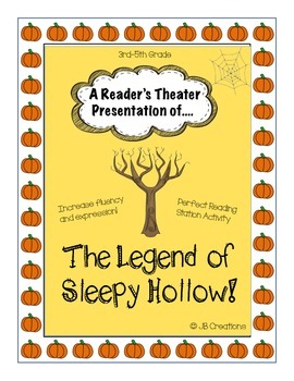 Reader's Theater: The Legend of Sleepy Hollow (script for