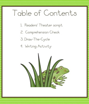 Readers' Theater: The Life Cycle of the Frog