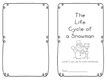 Readers' Theater: The Lifecycle of a Snowman