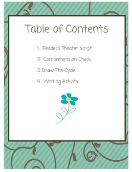 Readers' Theater: The Lifecycle of the Flower