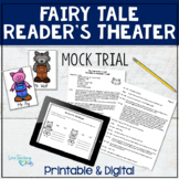Reader's Theater Trial of Alexander T. Wolf and Activities Printable & Digital