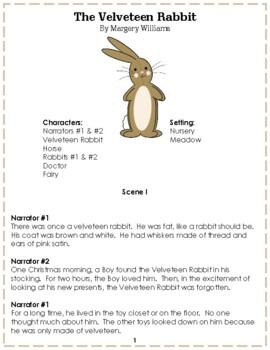 Reader's Theater: The Velveteen Rabbit