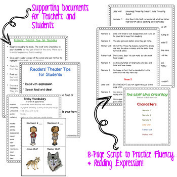 Readers' Theater - The Wolf Who Cried Boy - Funny Story! - Common Core - Fluency