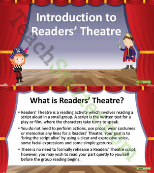 Readers' Theater/Theatre - Teaching Resource Pack