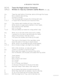 Readers Theater--Twas the Night Before Christmas