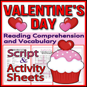 Valentine's Day - Readers Theater Holiday Script, Reading & Activity Packet