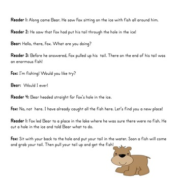 Reader's Theater: Why Bear Has a Short Tail