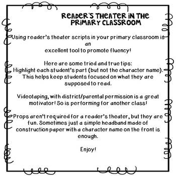Reader's Theater: Why the Sky is Far Away