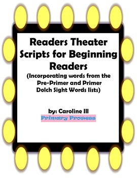 Readers Theater for Beginning Readers