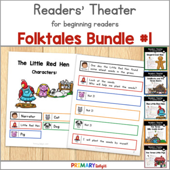 Readers' Theater for Beginning Readers Folktales Bundle