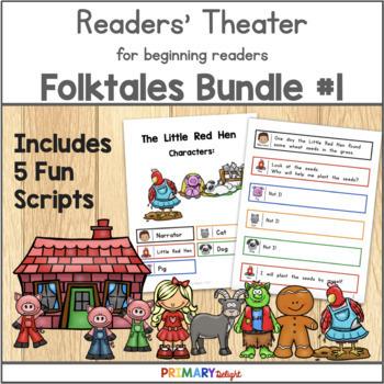 Readers' Theater for Beginning Readers Folktales Bundle