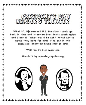 Reader's Theater for President's Day
