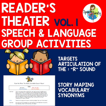 Reader's Theater for Speech & Language Groups: Volume 1