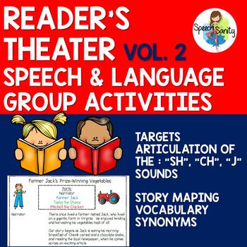 Reader's Theater for Speech & Language Groups: Volume 2