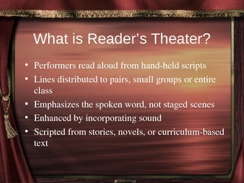 Reader's Theater for All Teachers